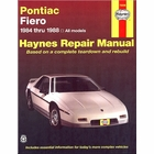 Pontiac Fiero Haynes Repair Manual 1984-1988