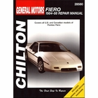 Pontiac Fiero Repair Manual 1984-1988