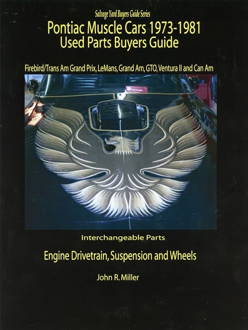 Pontiac Interchangeable Parts Guide 1973-1981