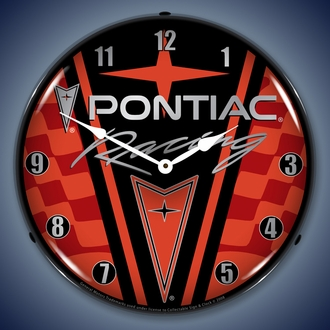 Pontiac LED Lighted Clocks