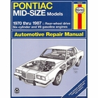 Pontiac Mid-Size Models Repair Manual 1970-1987