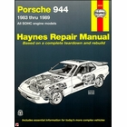 Porsche 944 SOHC Repair Manual 1983-1989
