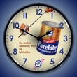 Purelube Oil Wall Clock, LED Lighted