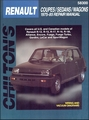Renault Coupes, Sedans, Wagons Repair Manual 1975-1985