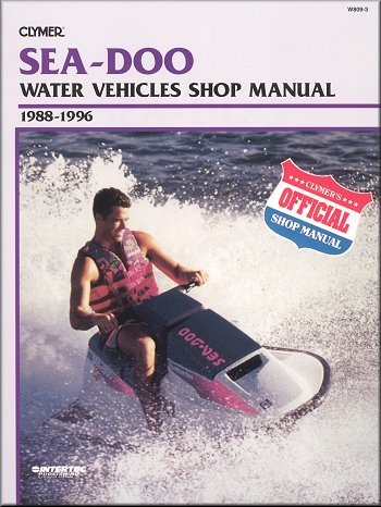 sea doo gsx gti gtx sp spi spx xp repair manual 1988 1996 rh themotorbookstore com 1997 Seadoo SPX 1997 seadoo gtx service manual