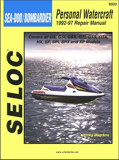 Sea-Doo PWC Repair Manual 1992-1997