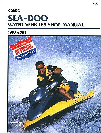 sea doo water vehicles shop manual 1997 2001 clymer w810 rh themotorbookstore com 2001 Sea-Doo GTX Top Speed 2001 seadoo gtx di service manual