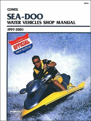 sea doo pwc repair manual 1997 2001 12 jet ski repair manuals yamaha, sea doo service manual