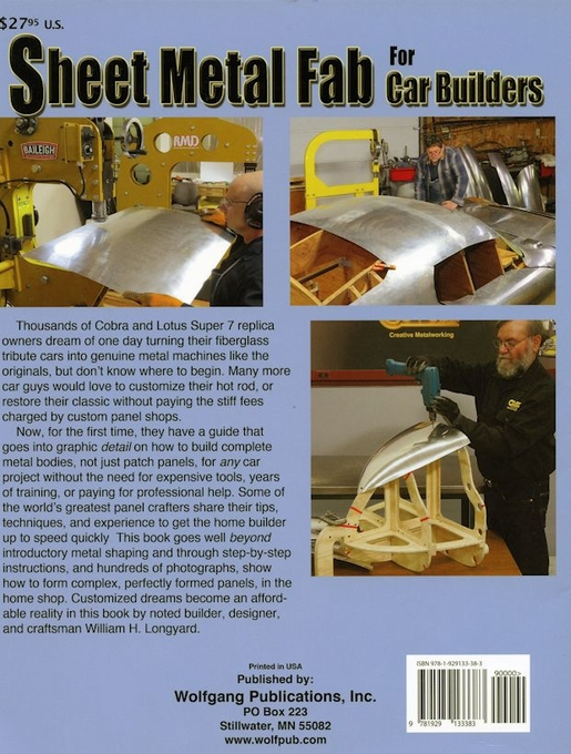 Sheet Metal Fab For Car Builders - Fab HowTo Book - WP338