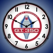 Shelby GT350 Vintage Wall Clock, Lighted
