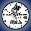 Shelby GT350 Wall Clock, Lighted