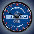 Shelby High Performance Equipment Lighted Wall Clock