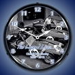 Shelby Legend Lives Lighted Wall Clock
