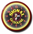 Signal Gas Neon Clock: High Quality, 20 Inches