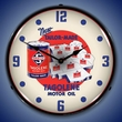 Skelly Motor Oil Wall Clock, LED Lighted