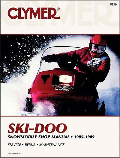 1985 1989 ski doo formula snowmobile repair manual clymer rh themotorbookstore com bombardier snowmobile manuals ski doo snowmobile repair manuals