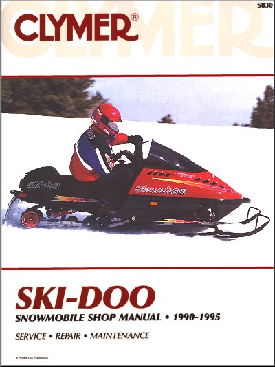 Ski-Doo Snowmobile Repair Manual 1990-1995