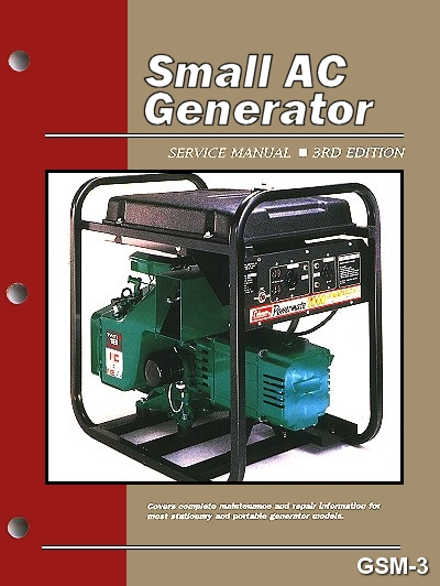 Small AC Generator Service and Repair Manual 3rd Edition on