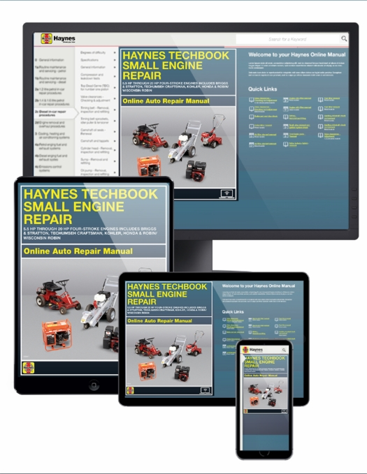 Small Engine Service Manual (ONLINE), 5.5 HP Through 20 HP