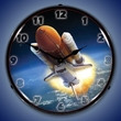 Space Shuttle Endeavour Wall Clock, Lighted