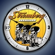 Stromberg Carburetor Wall Clock, LED Lighted