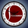 Studebaker Wall Clock, LED Lighted