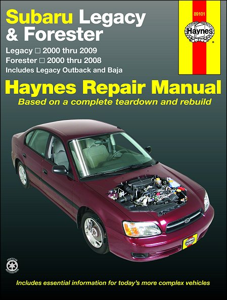 subaru legacy outback baja forester repair manual 2000 2009 rh themotorbookstore com 2009 subaru forester service manual download 2009 subaru forester factory service manual