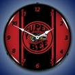 Super Bee Red Wall Clock, LED Lighted
