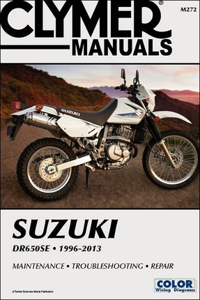 suzuki dr650se repair manual 1996 2013 clymer m272. Black Bedroom Furniture Sets. Home Design Ideas