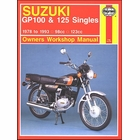 Suzuki GP100, GP125 Repair Manual 1978-1993