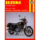 Suzuki GS1000 Four Repair Shop Manual 1977-1979