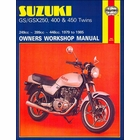 Suzuki GS250, GSX250, GS400, GSX400, GS450 Twins Repair Manual 1979-1985