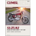 Suzuki GS400, GS425, GS450 Repair Manual 1977-1987