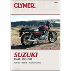 Suzuki GS650 Four Repair Manual 1981-1983