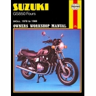 Suzuki GS850 Four Repair Service Manual 1978-1988