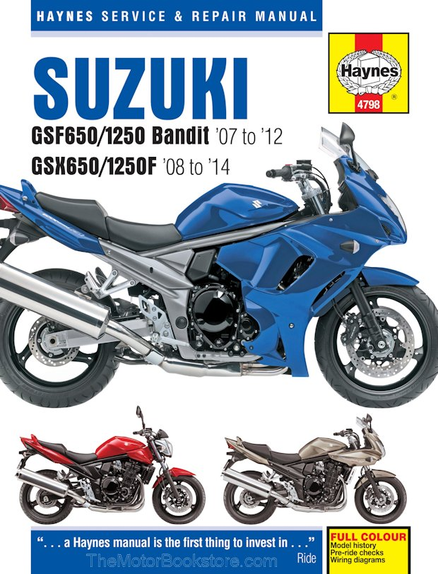 Suzuki bandit owners manual | ebay.