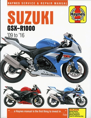 Suzuki sportbike repair manuals clymer haynes motor bookstore suzuki gsx r1000 repair manual 2009 2016 fandeluxe Gallery