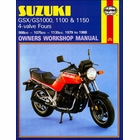 Suzuki GSX1000/1100, GS1000/1100/1150 Repair Manual 1979-1988