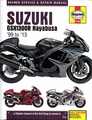 Suzuki GSX1300R Hayabusa Repair Manual 1999-2013