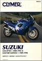 Suzuki GSXR750 1988-1992, GSX750F Katana 1989-1996 Repair Manual
