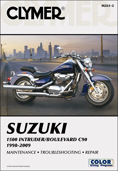 Suzuki Intruder 1500, Boulevard C90 Repair Manual 1998-2009