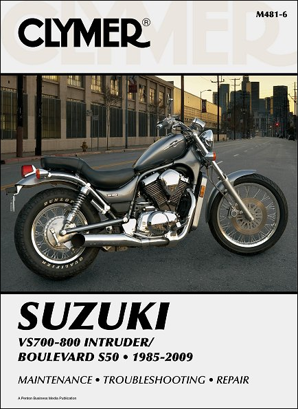 suzuki intruder boulevard s50 repair manual 1985 2009 clymer rh themotorbookstore com 1980 Suzuki GS 250 T Repair Manual suzuki vs 750 service manual .pdf