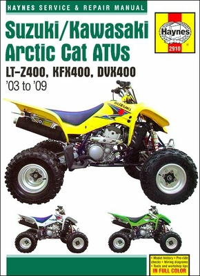 suzuki atv manuals atv repair service manuals rh themotorbookstore com Small Engine Repair Car Repair Logo