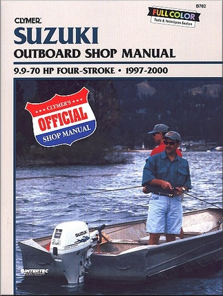 1997 2000 suzuki df series 9 9 70hp outboard repair manual for Suzuki outboard motor repair