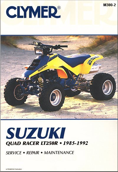 87 lt250r wiring diagram everything about wiring diagram A-Arms LT250R suzuki quadracer repair manual lt250r atv 1985 1992 clymer rh themotorbookstore 86 lt250r 1987 lt250r wiring diagram