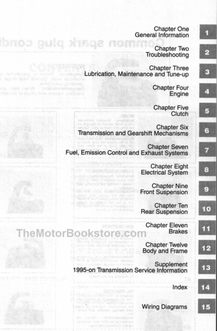Suzuki Savage, Boulevard Repair Manual 1986-2015