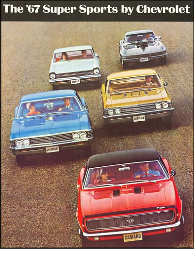 The '67 Super Sports by Chevrolet Sales Brochure