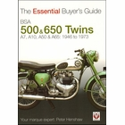 The Essential 1946-1973 BSA 500 & 650 Twins A7, A10, A50 & A65 Buyer's Guide