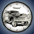 Tim Odell Gasser Wall Clock, LED Lighted