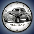 Tim Odell Mean Mutha Wall Clock, Lighted